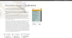 Preview of businessplanarchive.org